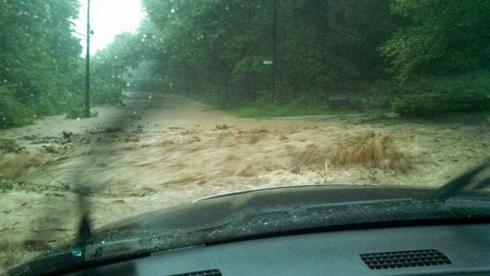 Melcroft Road in Fayette County