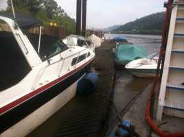 The main concern was that the dock would go over, and possibly damage, the Braddock Locks and Dam.