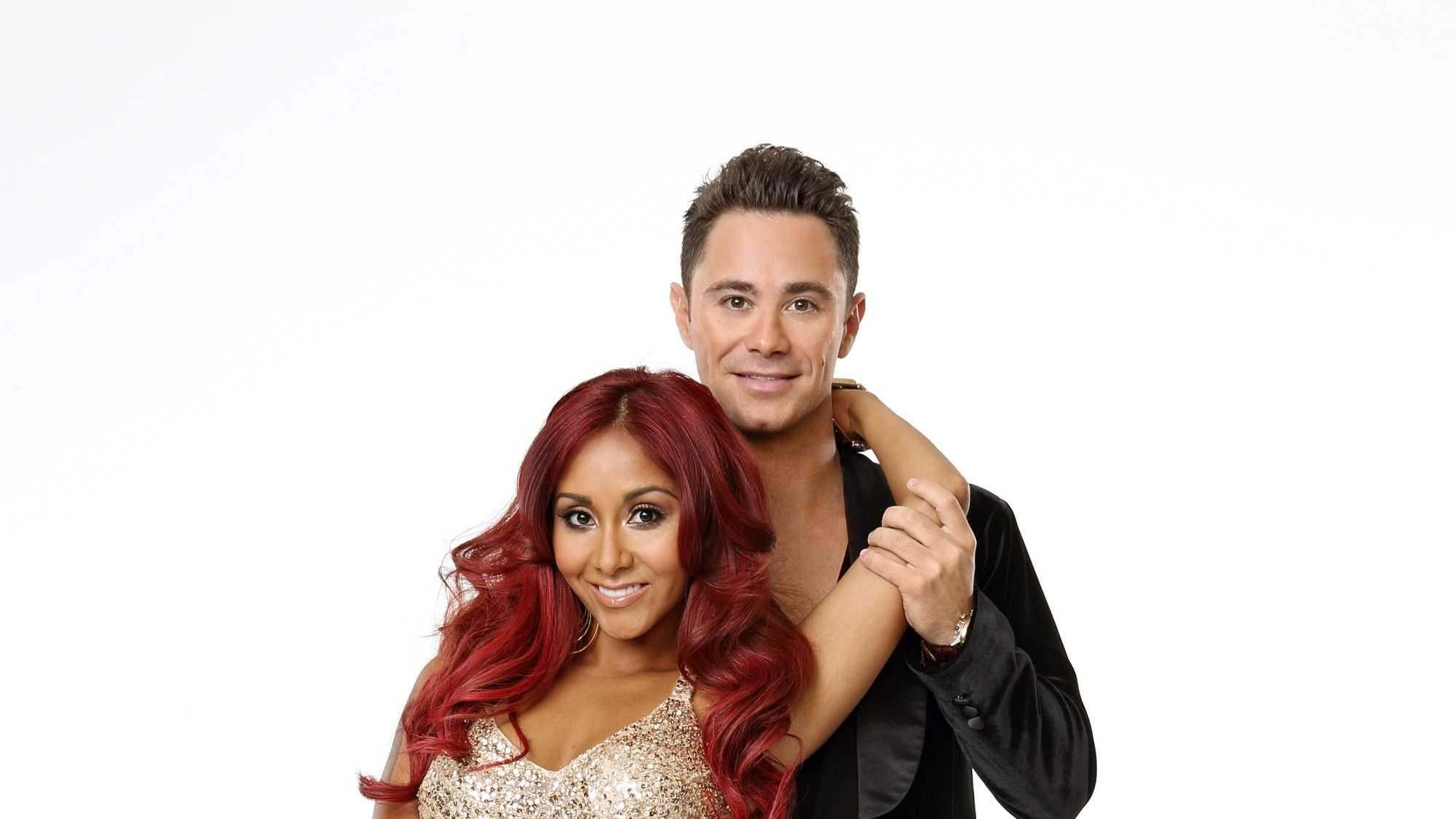 "Nicole ""Snooki"" Polizzi joins first time professional partner Sasha Farber"