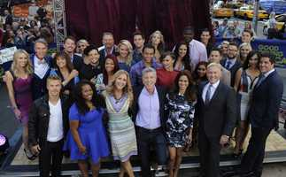 """The cast of Season 17 of """"Dancing With The Stars"""" was announced live on """"Good Morning America"""" on Sept. 4, 2013. Let's meet our dancing couples..."""