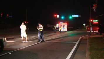 The fatal accident happened near the intersection of Eastwood Road and Westgate Drive.