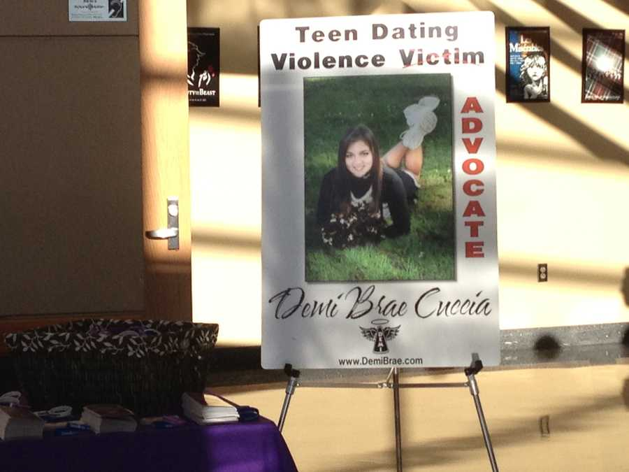 Gateway High School cheerleader Demi Cuccia was killed by her boyfriend, but her father keeps her memory alive by sharing her story with today's students to teach them about teen dating violence.