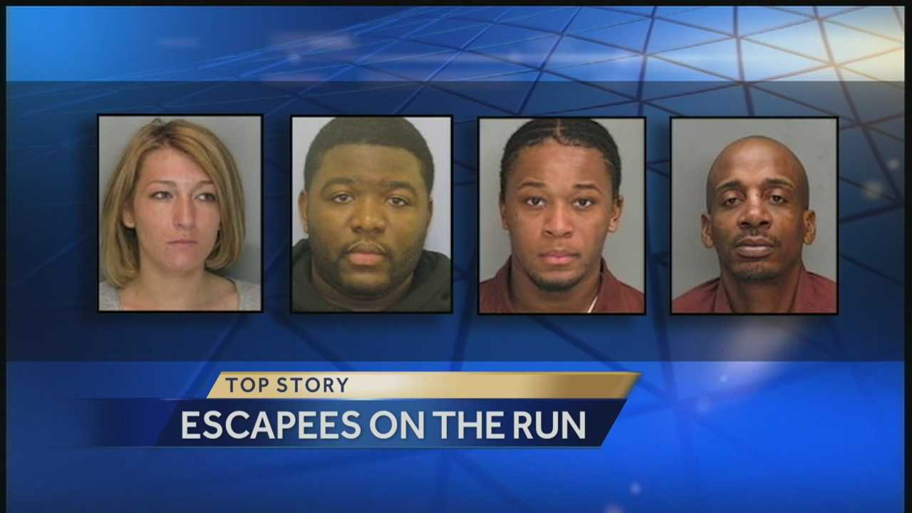 img-Police looking for 4 escapees