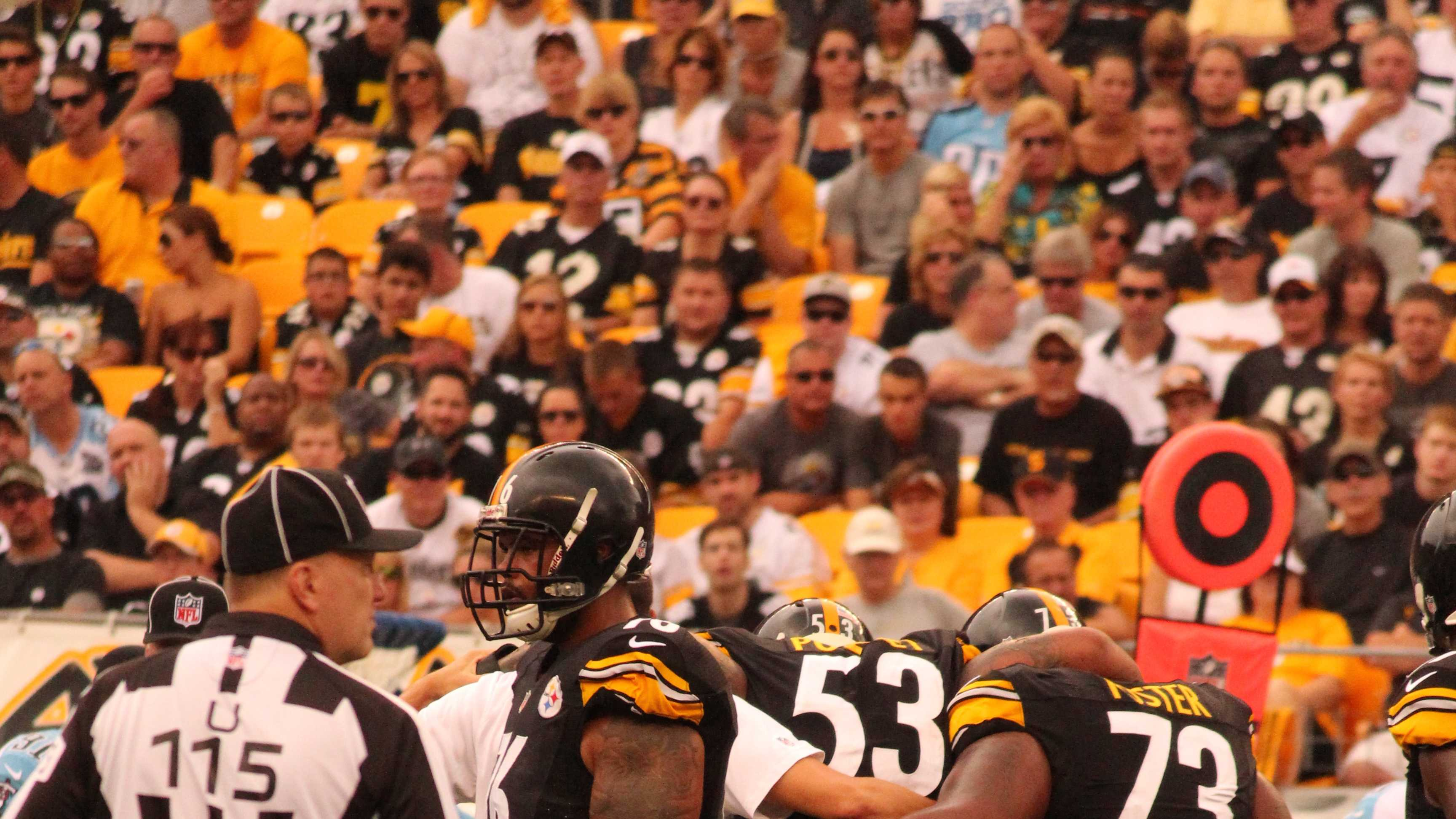 Maurkice Pouncey suffered a knee injury in the season opener against Tennessee.