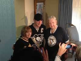 According to the Penguins, Darling has been a season-ticket holder since 1970.