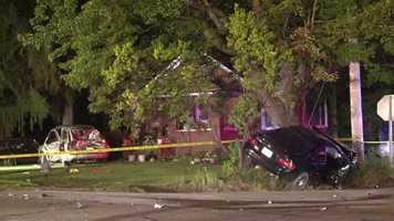 The crash happened onWest Poland Avenue.
