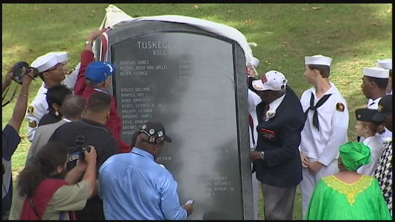 The Sewickley Cemetery is now home to the largest outdoor Tuskegee Airmen Memorial in the country. It's an honor a long time coming, and it is dedicated to unsung heroes from years ago, some of whom attended Sunday's unveiling ceremony in person.