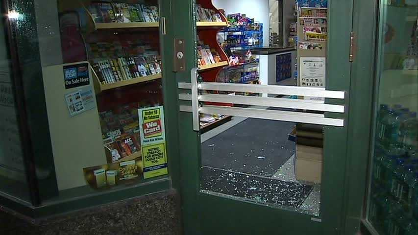 No arrests have been made. Pittsburgh police have not said what, if anything, was stolen from the store.