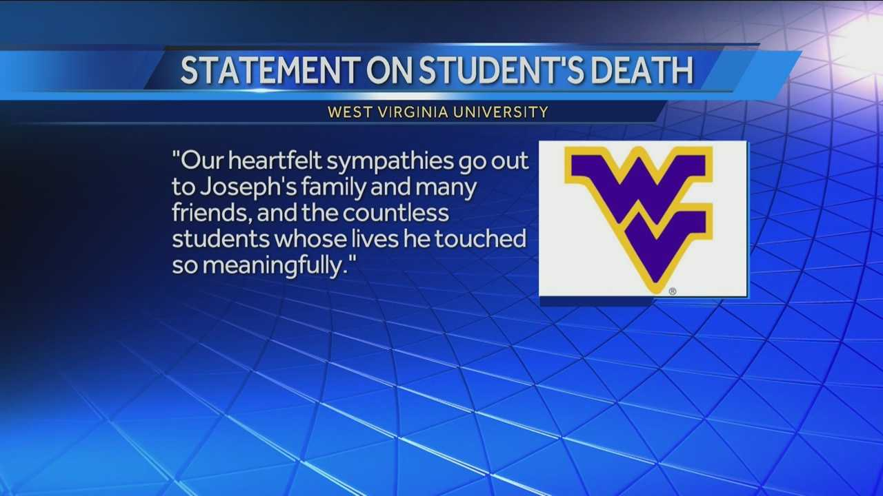 West Virginia University student Joseph Dzuris was killed in a hit-and-run.