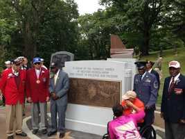 The Sewickley Cemetery is now home to the largest outdoor Tuskegee Airmen Memorial in the country.