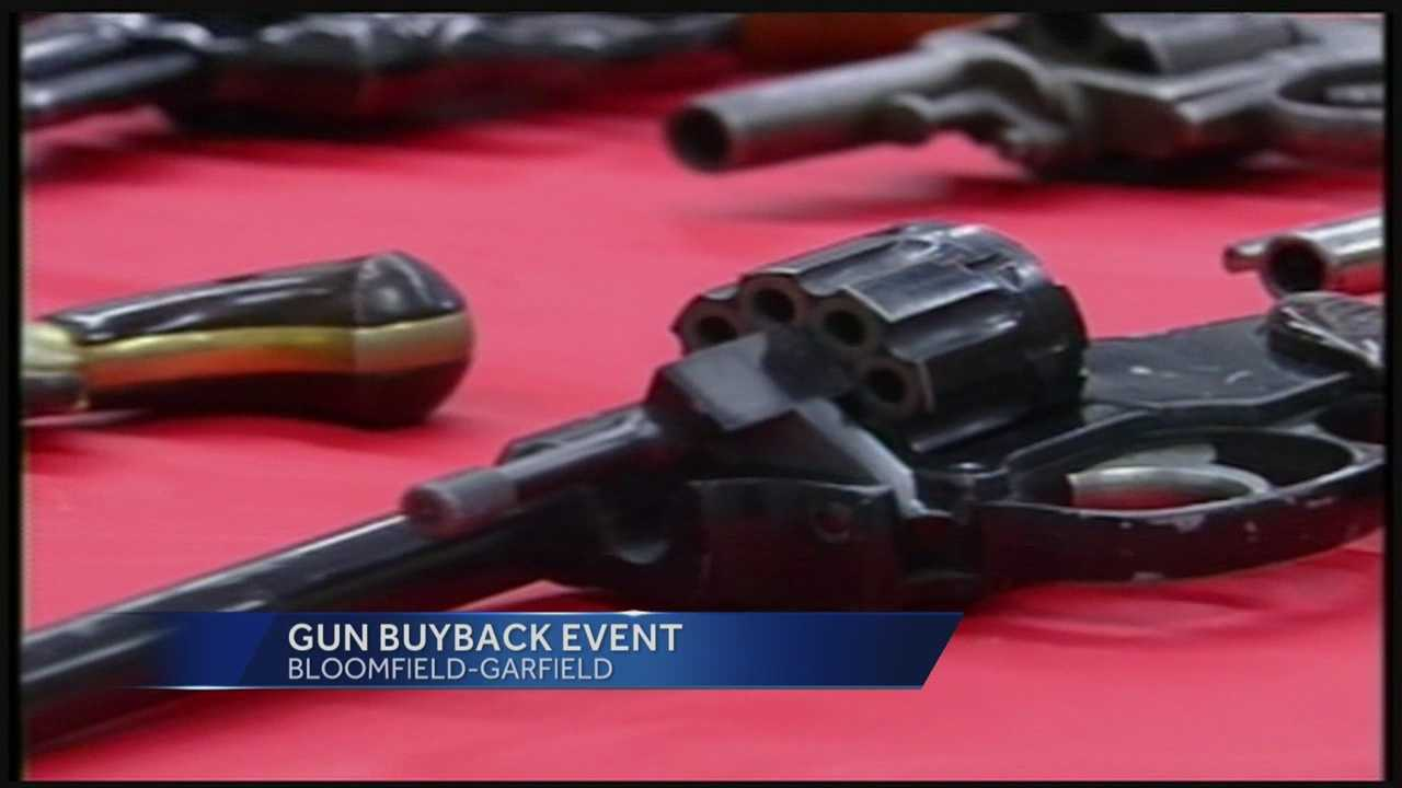 The non-profit Bloomfield-Garfield Corporation is holding a gun buyback event on Saturday to help curb gun violence in city neighborhoods.