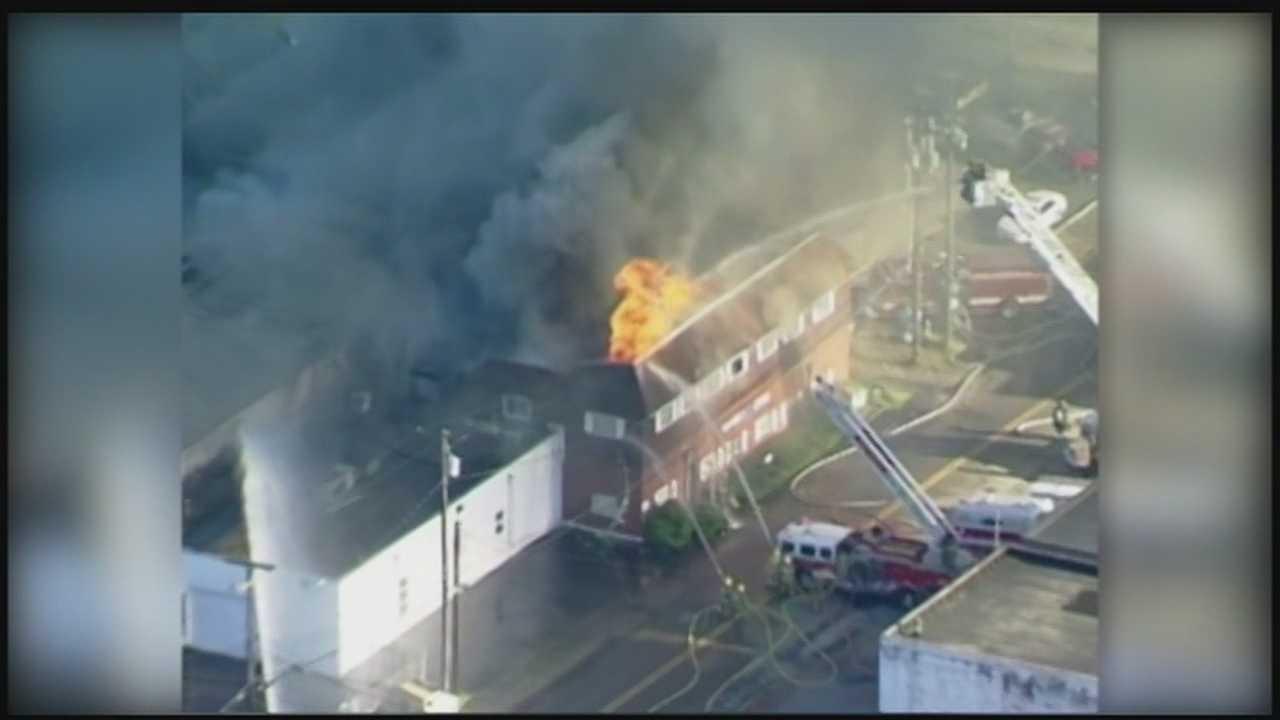 Cheswick business damaged by fire
