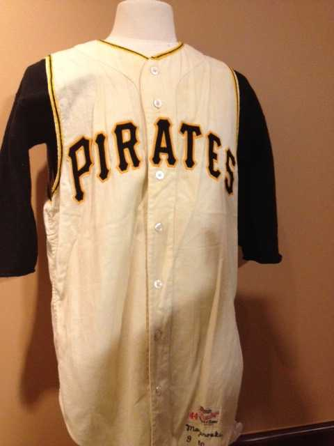 """""""To tell you the truth, I had that jersey and uniform in a safe place, and I saw it once in 53 years, and I just looked at it to make sure the mothballs were working and all that stuff and nobody's been seeing it, and I just said, 'That should be out there for somebody to see,'"""" said Mazeroski."""