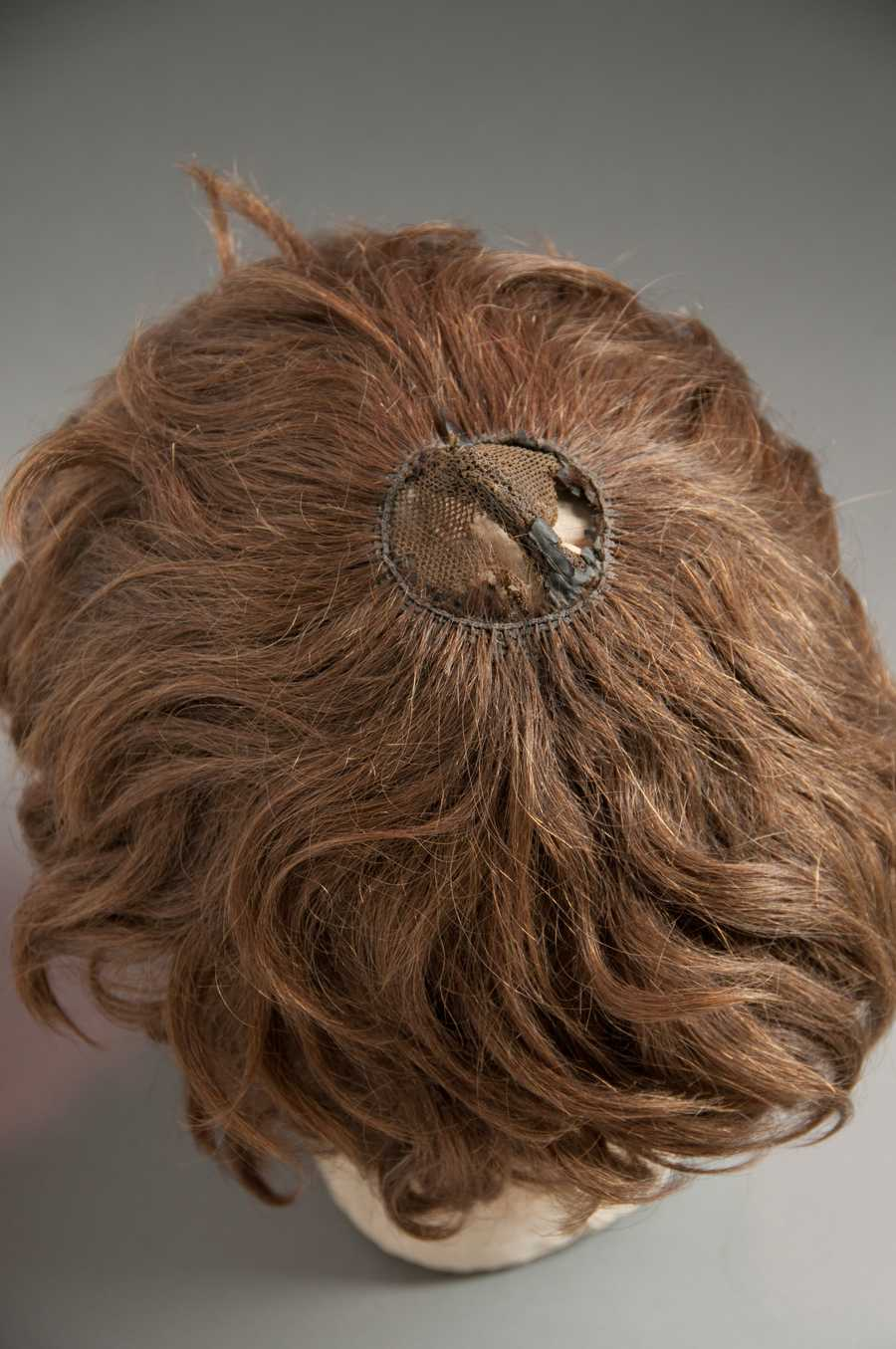"Thaddeus Stevens wigInstitution: LancasterHistory.orgHometown: LancasterDescription: ""Wig worn by Congressman Thaddeus Stevens (1792-1868), passionate abolitionist, advocate for the 13th Amendment and recent subject of Steven Spielberg's 'Lincoln.'"""