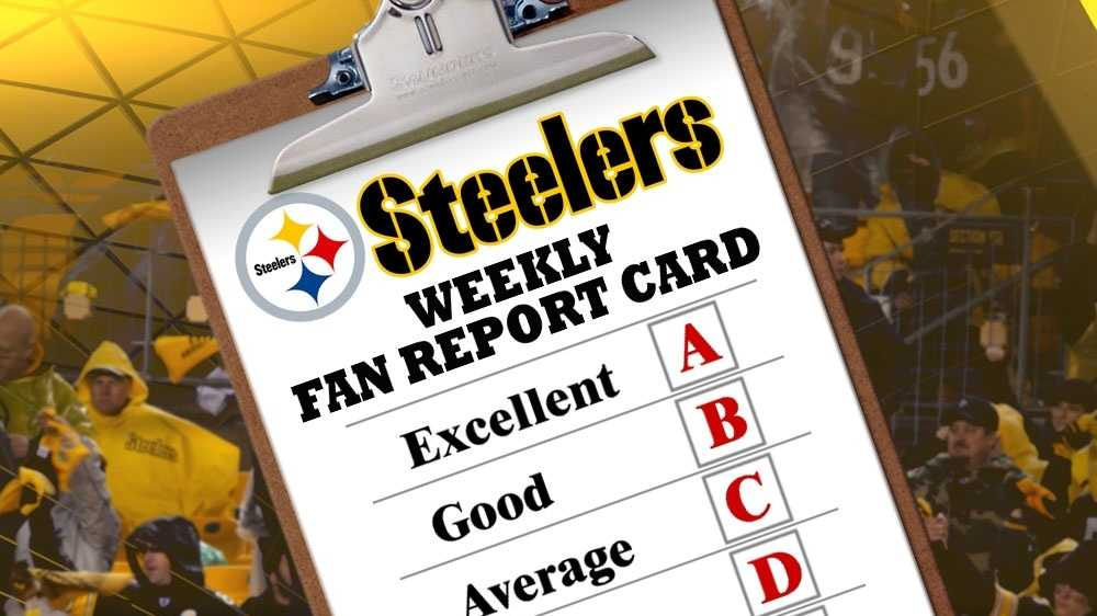 Steelers report card