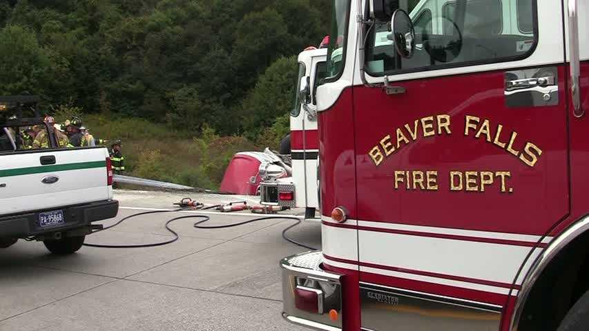 Beaver Falls fire truck