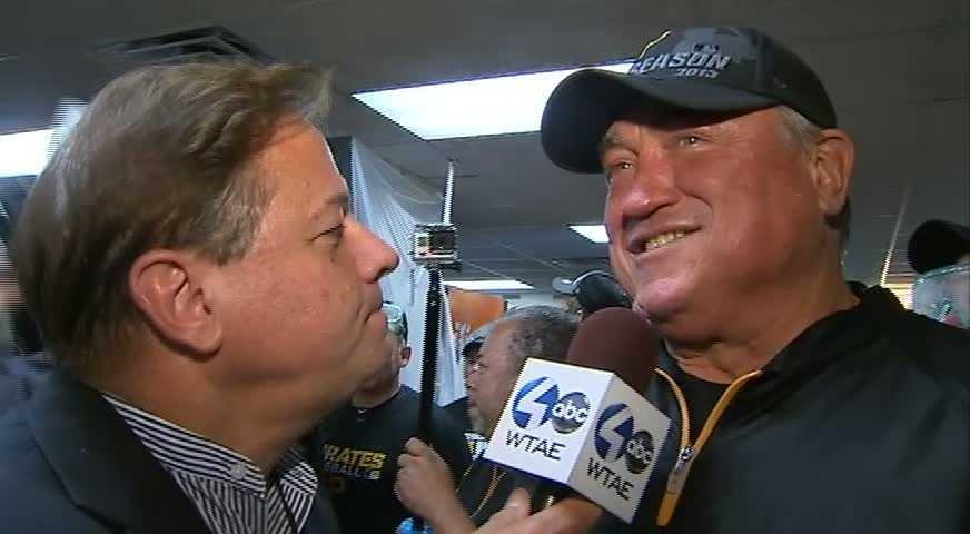 Action Sports' Guy Junker and Clint Hurdle