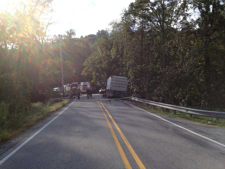 A woman and her 7-year-old daughter -- who was briefly brought back to life -- have both died after their car collided with a tri-axle truck Wednesday morning in Fayette County.