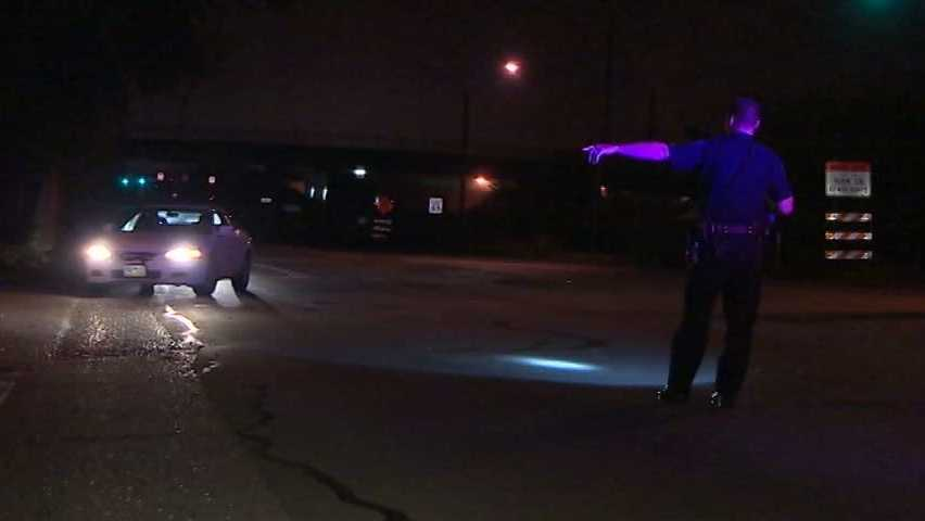 Police say a 23-year-old woman was shot on Maplewood Avenue.