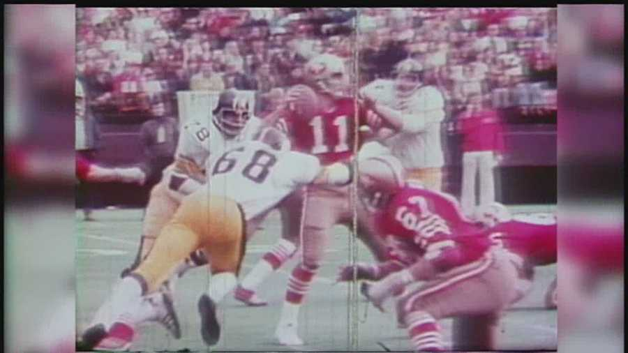 L.C. Greenwood had 73 1/2 sacks during his 13-year career. The sack became an official statistic after he retired.