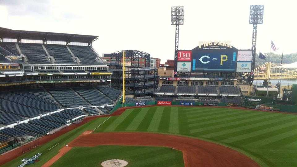 PNC Park is ready to host the National League Wild Card Game.