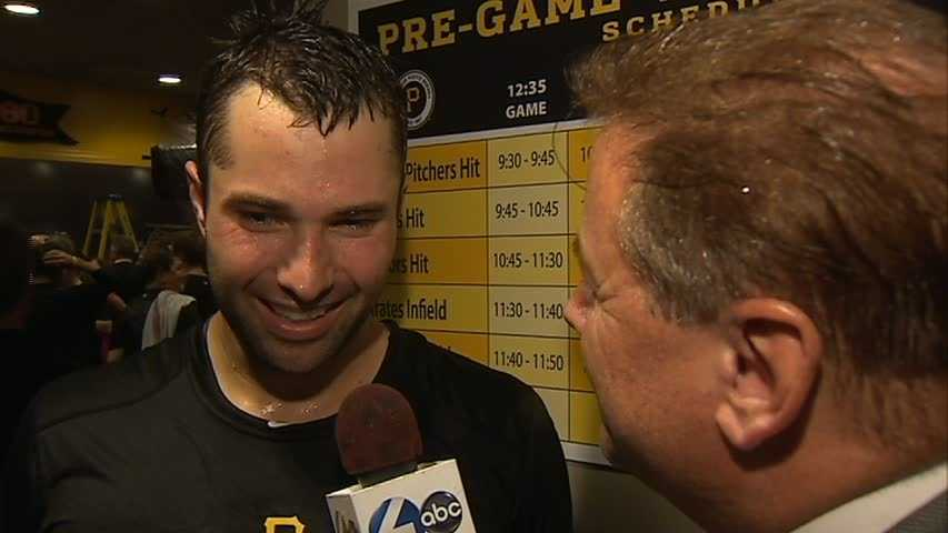 Neil Walker helped his hometown team with an RBI double off the center field wall.