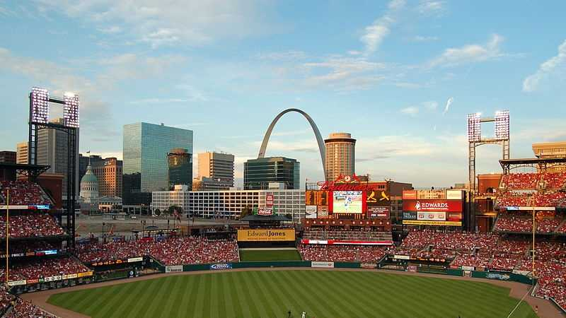 Busch Stadium in St. Louis