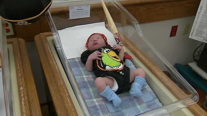 Staff members said they dressed up babies for the Steelers' last Super Bowl run, and knew they wanted to bring Bucco fever to the newest generation of fans.