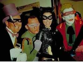 """Frank Gorshin (second from left): This actor and comedian was most famous for his role as The Riddler on the """"Batman"""" live-action TV show. He grew up in Pittsburgh where he graduated from Peabody High School."""
