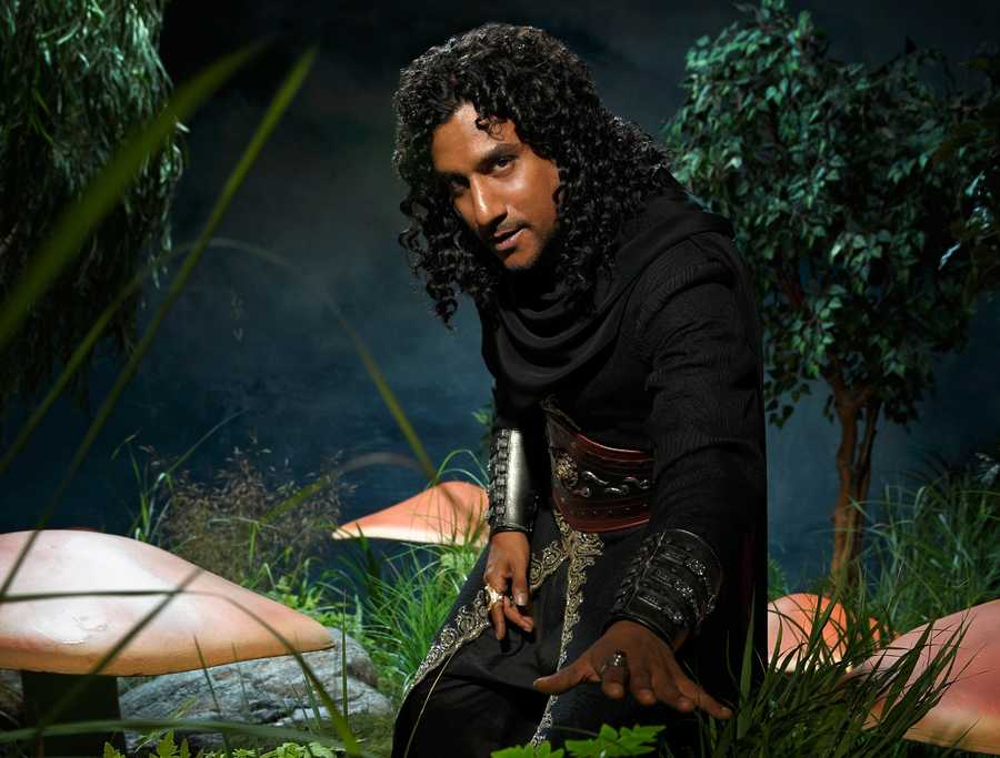 """ABC's """"Once Upon a Time in Wonderland"""" stars Naveen Andrews as Jafar. (ABC/Bob D'Amico)"""