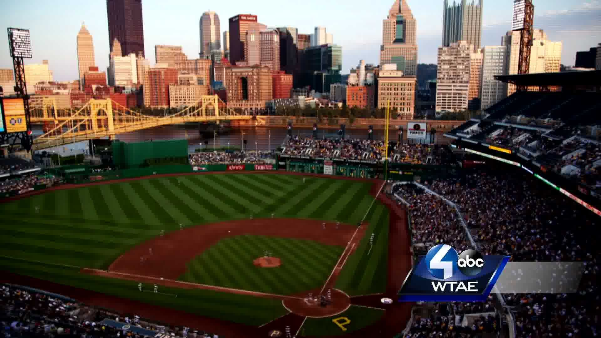 PNC Park with Channel 4 bug