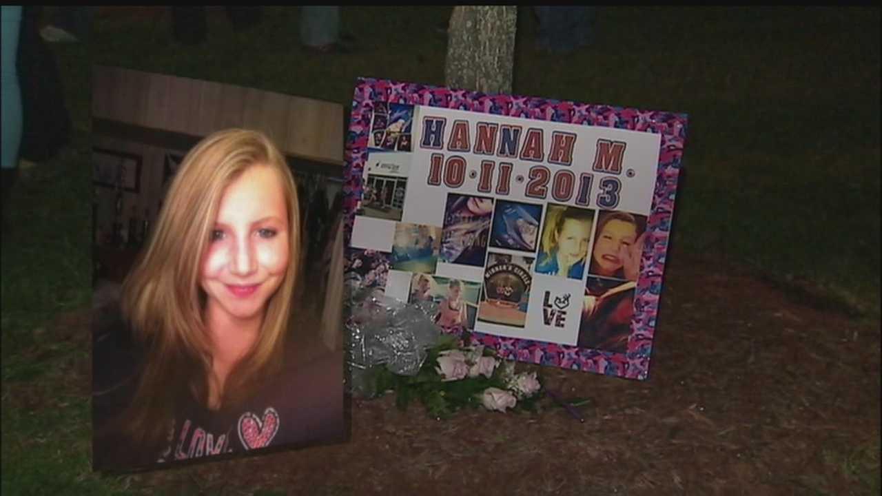 Hannah Mozingo vigil