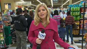 VIDEO: Click here to watch Amber Nicotra's report on the grand opening of the grocery store.