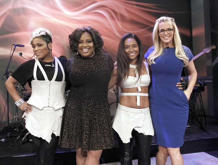 """TLC performed Wednesday on """"The View"""" which you can watch weekdays at 11am only on WTAE Channel 4."""