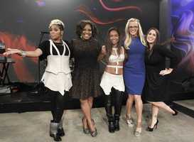 "TLC performed Wednesday on ""The View"" which you can watch weekdays at 11am only on WTAE Channel 4."
