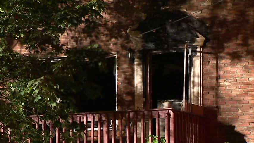 Officials say the building on Sleepy Hollow Road caught fire started sometime before 4 a.m. Thursday. A neighbor first saw the flames and rushed in to help the man get out of the duplex.