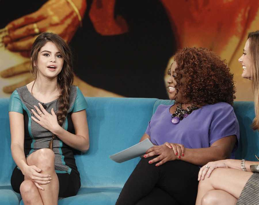 "Actress/Singer Selena Gomez performed on ""The View"" Thursday, October 17, 2013. You can watch ""The View"" weekdays at 11am only on WTAE Channel 4 Pittsburgh."
