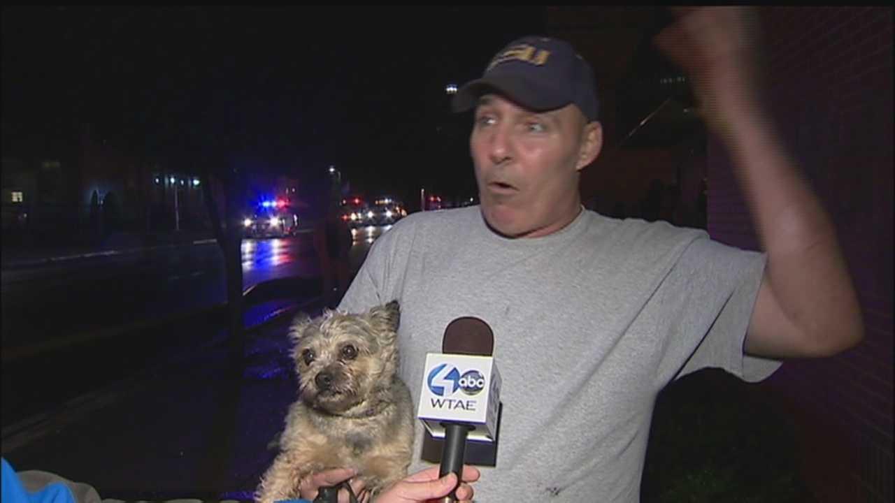 Hero puppy of Aliquippa fire