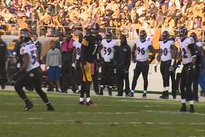 Ben Roethlisberger as the receiver