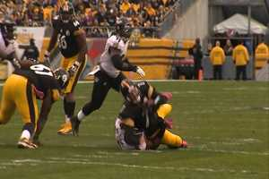 Ben Roethlisberger sacked