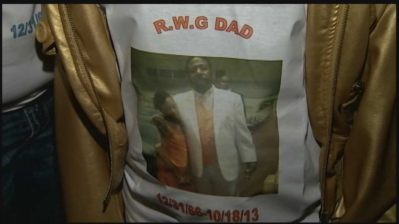 A T-shirt withDonald Lowry's picture.