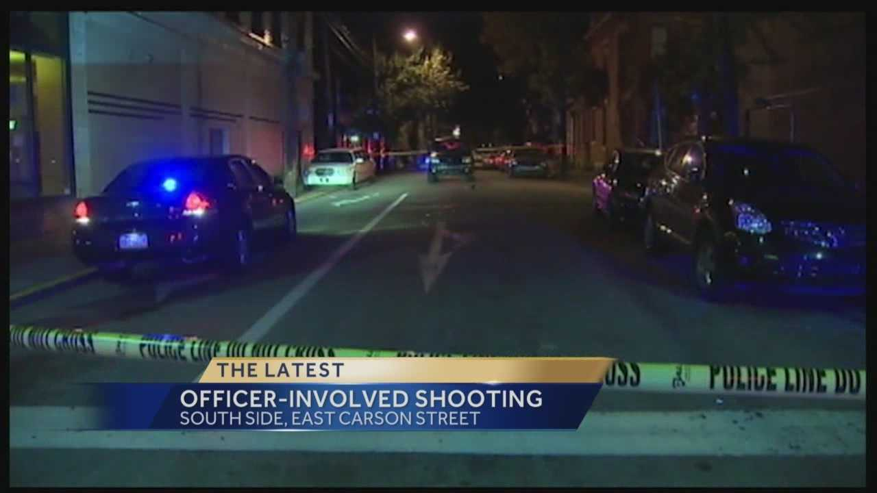 Action News Amber Nicotra has the latest on the incident that occurred on Carson Street where a suspect was trying to get away from officers and in the process ran over three individuals and a officer.