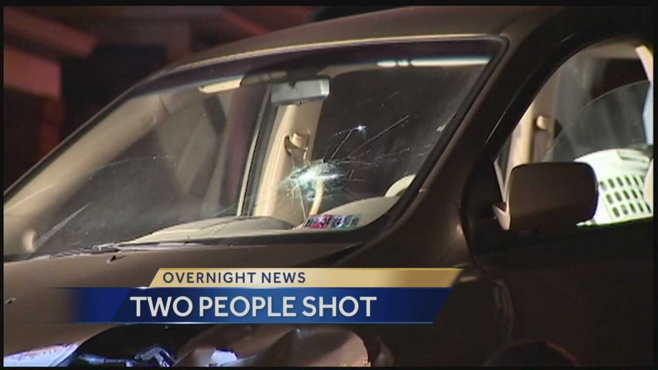 Action News' Amber has the latest on the investigation of the shootings that spanned two neighborhoods.