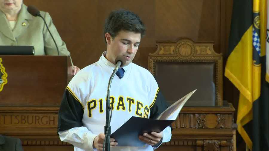 """""""Right after the team lost in the playoffs, we were getting calls, emails -- I got Facebook messages, Twitter messages -- 'You have to do something to thank the Pirates.' I mean, they wanted to do a huge parade and blow it all out because I think the fans just really wanted to thank them and that's what this is all about. It's a thank you from the fans to the Pirates,"""" said O'Connor."""