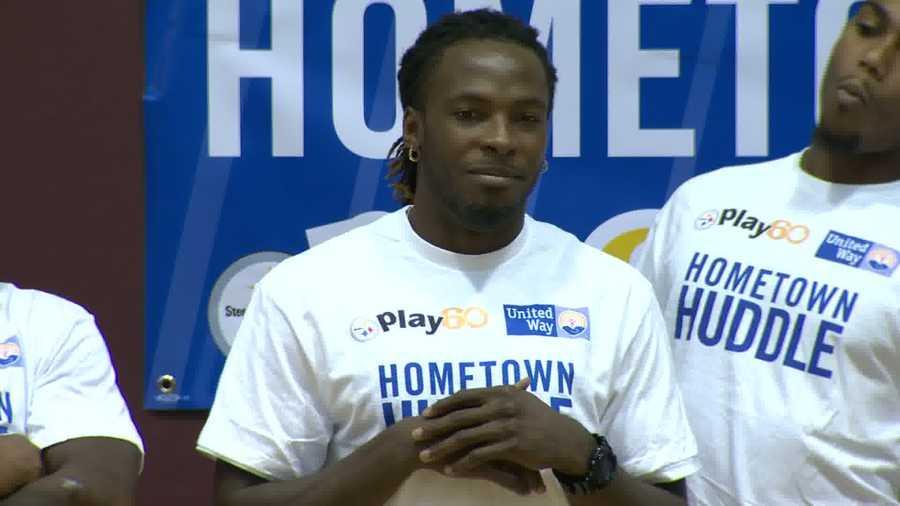 Wide receiver Markus Wheaton