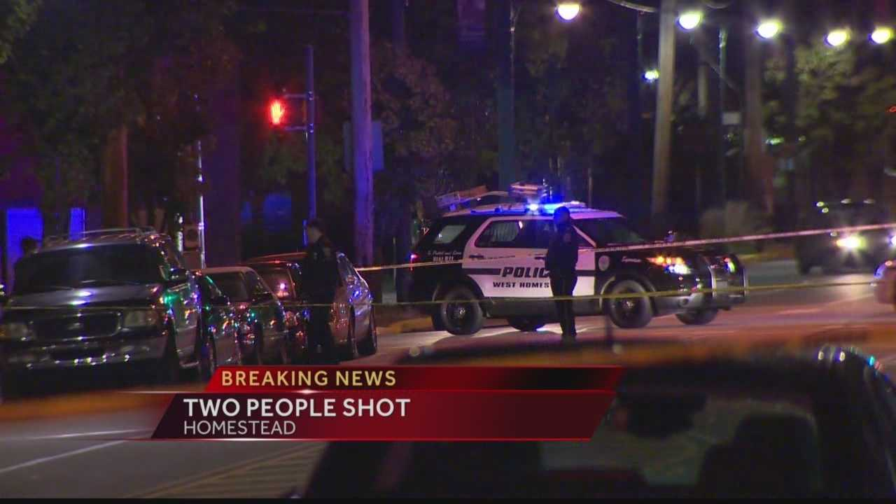 Two People Shot in Homestead