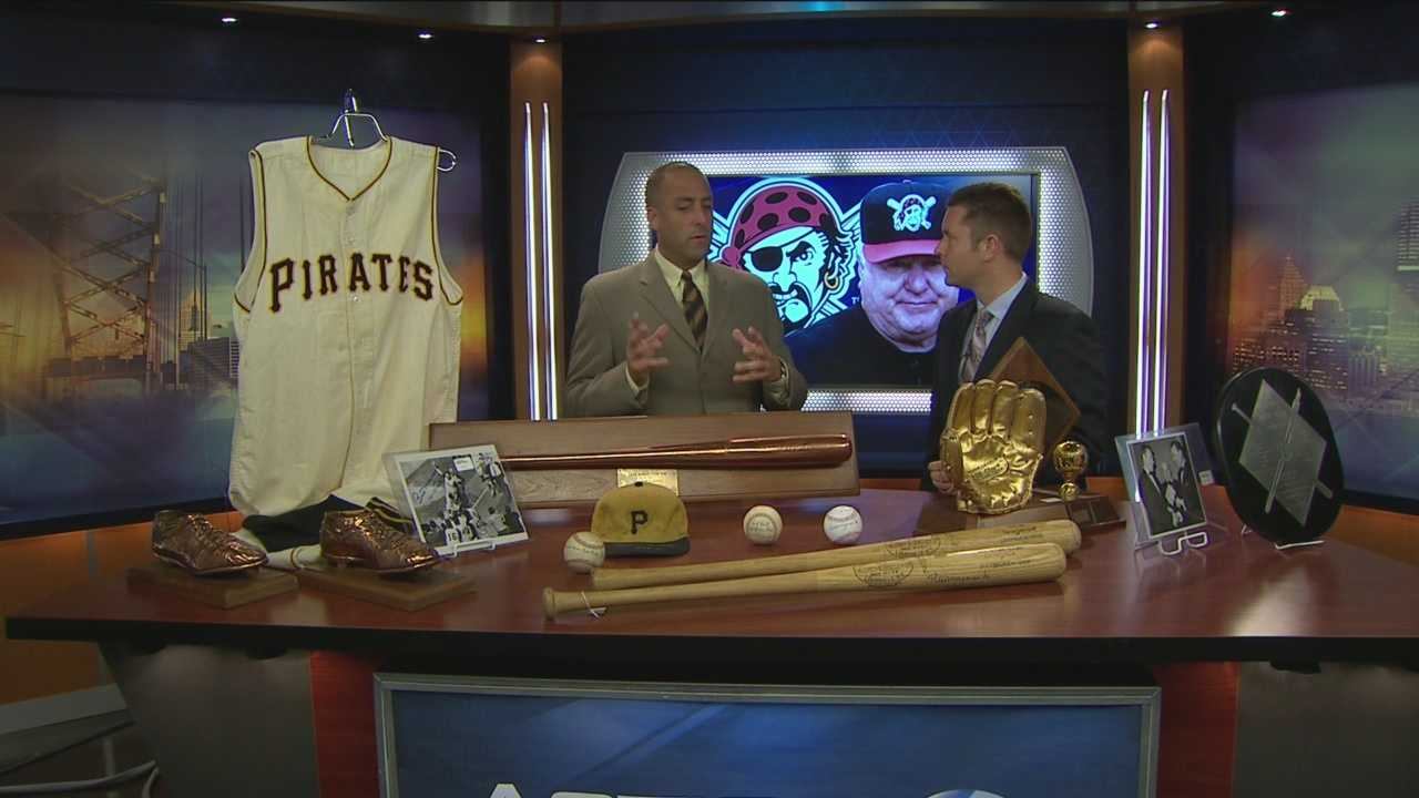 Action Sports' Ryan Recker has information on how you bid on auction for historic memorabilia of Pirates's Bill Mazerorski.
