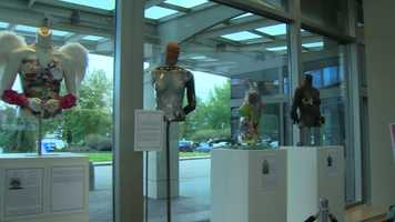 Eleven sculptures dedicated to women who fought cancer and underwent breast reconstruction are on display at Magee-Womens Hospital, UPMC Passavant and the UPMC Hillman Cancer Center.