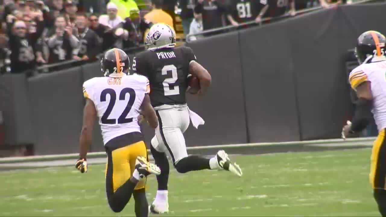 Terrelle Pryor 93-yard touchdown