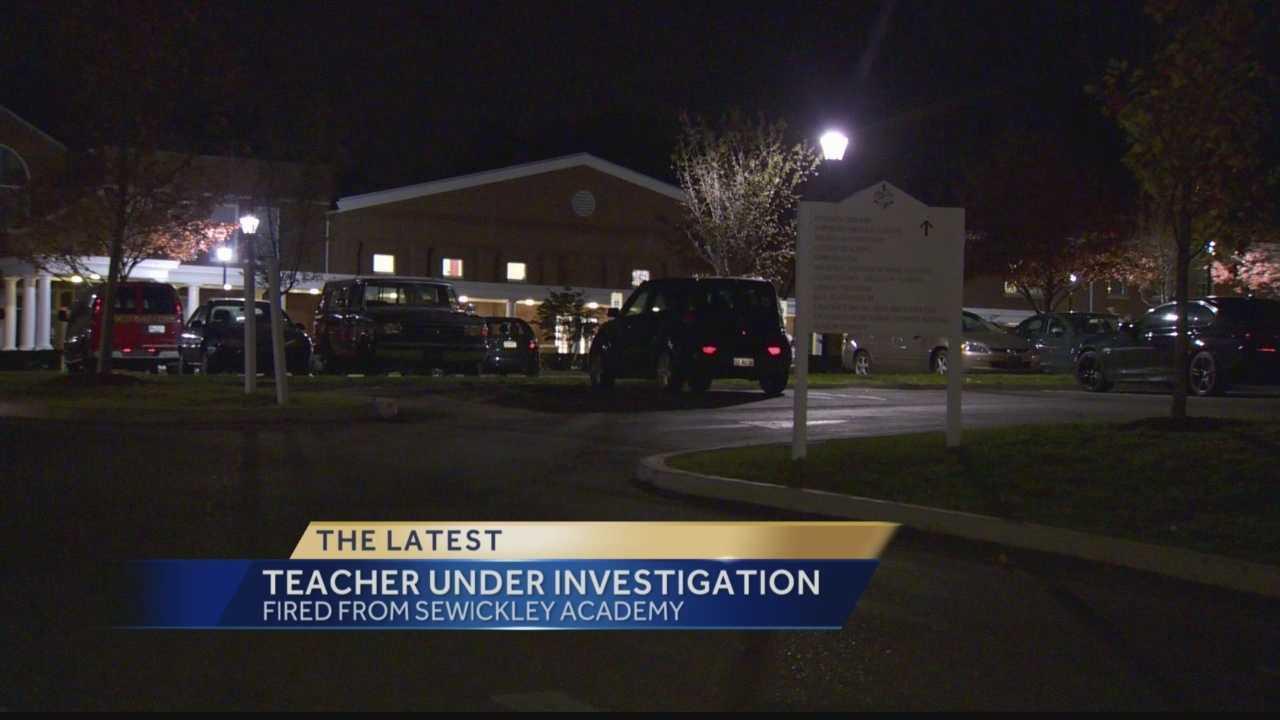 Sewickley Academy fires teacher